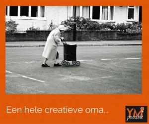 Dagelijkse creativiteit, creativiteit in de praktijk, creatief denken, creativiteit, oma